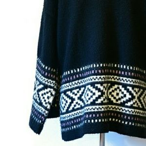 ASOS Geometric Patterned Open Front Cardigan